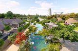 Thị trường - Eco Bangkok Villas Bình Châu: Tiếp nối thành công sự kiện bàn giao Công viên hồ khoáng rộng 12.000m2, CĐT tiếp tục khởi công Dòng suối khoáng Thuỷ Châu