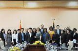 Sức khoẻ - Làm đẹp - Thứ trưởng Trương Quốc Cường làm việc với Phó Giám đốc Cơ quan Phát triển quốc tế Hoa Kỳ