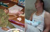 """Gia đình - Tình yêu - Chị em nức nở khen vợ """"có số hưởng"""" khi thấy ảnh chồng ngủ gục do quá mệt vì phải thức chăm con nhỏ"""