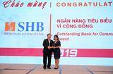 Bí quyết làm giàu - SHB được vinh danh là ngân hàng tiêu biểu vì cộng đồng và đồng hành cùng DNVVN