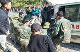 Tin trong nước - Xe chở đoàn nghệ thuật tình thương đâm vào vách núi, 7 người thương vong