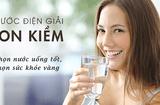 Quyền lợi tiêu dùng - Chọn máy lọc nước ion kiềm chất lượng cho cuộc sống hiện đại