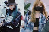 """Tin tức giải trí - 8 mỹ nữ """"Sáng tạo doanh"""" ở sân bay: Nene khoe eo thon, Hy Lâm Na Y Cao tóc xanh đầy mộng ảo"""