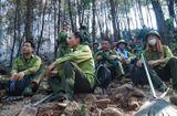 Tin trong nước - Cháy rừng ở Diễn Châu: Nỗ lực dập lửa suốt đêm