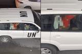 """Tin thế giới - Liên Hợp Quốc sốc nặng trước video nhân viên """"mây mưa"""" trên xe công vụ"""