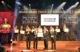 Tài chính - Doanh nghiệp - Techcombank được Bộ Tài chính vinh danh thành tích nộp thuế tiêu biểu, xuất sắc toàn quốc