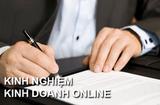 Thị trường - Các bước đăng ký kinh doanh online trên các trang thương mại điện tử 2021