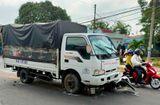 Tin trong nước - Tài xế ngủ gật gây tai nạn liên hoàn, 5 học sinh bị thương