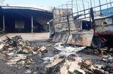 Tin trong nước - Đồng Nai: Xưởng gỗ cháy lớn lúc sáng sớm, lan cả sang gara ô tô
