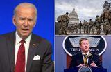 Tin thế giới - FBI kiểm tra lý lịch của 2,5 vạn vệ binh bảo vệ lễ nhậm chức của ông Biden