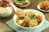Ăn - Chơi - Cách nấu canh bóng thập cẩm chuẩn vị, đẹp mắt