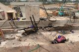 An ninh - Hình sự - Điều tra nguyên nhân công nhân công trình Cầu Hòa Bình 2 tử vong