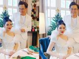 Lý Nhã Kỳ nói gì về tin đồn làm đám cưới với MC Đại Nghĩa?
