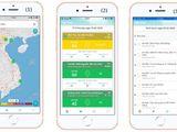 Triển khai ứng dụng thông tin chất lượng không khí trên điện thoại di động