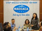 Hội Phụ nữ Nghệ An tại Hà Nội thăm và làm việc với Công ty Macca Nutrition