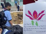Bạn bè viết thư cho nam sinh mất vì cây đổ: Kiếp sau mình lại làm bạn chung lớp tiếp nha!