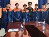 Cứu sống 6 thuyền viên gặp nạn vì chìm tàu cá