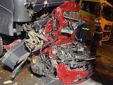 Tin trong nước - Chùm ảnh hiện trường vụ xe container đè bẹp ô tô con khiến 3 người chết ở Hà Nội