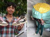 Thanh niên dành tiền bốc vác suốt 2 năm để sắm giày hiệu, dân mạng soi điểm