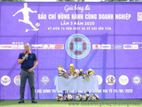 """Zila Water tài trợ nước uống trên sân cho giải bóng đá """"Báo chí đồng hành cùng doanh nghiệp lần 3"""""""