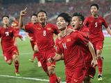 Đội tuyển Việt Nam bất ngờ tăng 1 hạng trên bảng xếp hạng FIFA