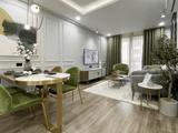 Mẫu thiết kế nội thất cho những gia chủ yêu màu xanh