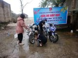 Hà Tĩnh: Đoàn thanh niên rửa xe miễn phí, quyên góp tiền tặng hộ nghèo ăn Tết
