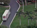 Video-Hot - Video: Xe tải bắt đầu chuyển đồ của Tổng thống Trump đến Florida trước ngày rời Nhà Trắng