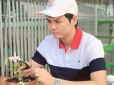 Nghệ nhân Trương Quang Xuyên chấp nhận từ bỏ công việc nhà nước để theo đuổi niềm đam mê với lan Var