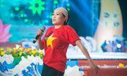 Á hậu Tú Anh tươi trẻ cổ vũ Đoàn TTVN ở SEA Games 28
