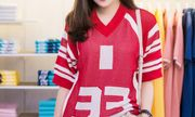 Tú Anh mũm mĩm, khỏe khắn nhưng gợi cảm với trang phục thể thao