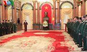 Chủ tịch nước trao quyết định thăng cấp bậc hàm Đại tướng