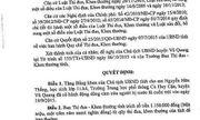 Hà Tĩnh: CT UBND tỉnh tặng Bằng khen cho nam sinh dũng cảm cứu người trong lũ