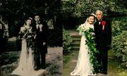 Phát ghen với cặp vợ chồng kỷ niệm ngày cưới lần thứ 70
