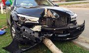 Khách hàng lái thử gây tai nạn, xe BMW gần 5 tỷ nát bét phần đầu