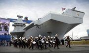 """Bất ngờ với """"sự trỗi dậy"""" của Hải quân Anh mang tên Nữ hoàng Elizabeth"""