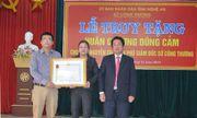 Nghệ An: Truy tặng Huân chương dũng cảm cho PGĐ Sở hi sinh trong lũ