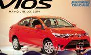 Toyota Vios 2014 chính thức ra mắt tại Việt Nam