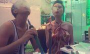 Angela Phương Trinh hút shisha phì phèo