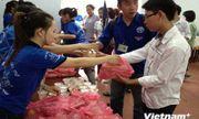 18 điểm phát cơm trưa miễn phí cho thí sinh tại Hà Nội