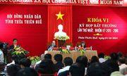 Bầu nhân sự mới cho HĐND và UBND tỉnh Thừa Thiên - Huế