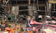 Cháy chợ Nhật Tân: Nguyên nhân do chập điện