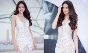 Hoa hậu Phạm Hương diện đầm gợi cảm, tỏa sáng dự sự kiện