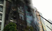 Cảnh sát hướng dẫn cách xử lý thoát khỏi đám cháy ở nhà cao tầng