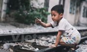 Những 'mảnh' tuổi thơ trên phố đường tàu Lê Duẩn
