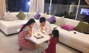 Công Vinh đón sinh nhật bên Thủy Tiên và con gái sau tuyên bố giải nghệ