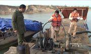 Bắt giữ 3 thuyền khai thác cát trái phép