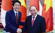 Thủ tướng Nhật Shinzo Abe tuyên bố sẽ cung cấp 6 tàu tuần tra mới cho Việt Nam