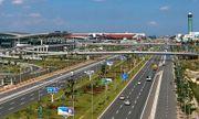 Đề nghị xây dựng cầu đi bộ trước cảng hàng không quốc tế Nội Bài