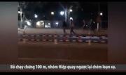 Hơn 40 thanh niên hỗn chiến giữa phố, 2 người bị chém gục